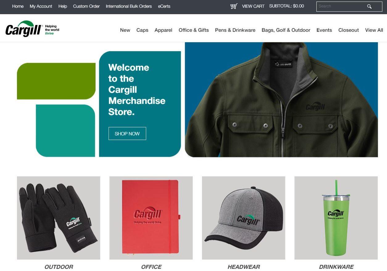 Cargill Webstore